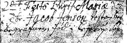 Jacob Jensen død 1698a