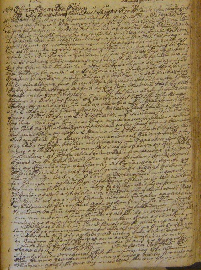 Koldborg fæste 1753 Ågård a